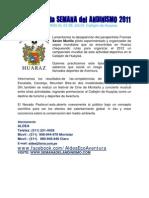 Informes y Resultados de La Semana del Andinismo 2011 - Callejon de Huaylas