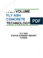 High Volume Fly Ash Concrete