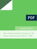 Atlas de potencialidades productivas de Santa Cruz