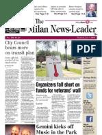 The Milan News-Leader