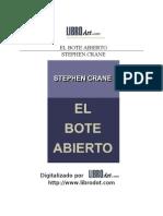 Crane Stephen - El Bote Abierto