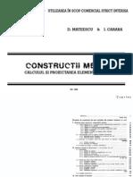 Mateescu - Constructii Metalice 1