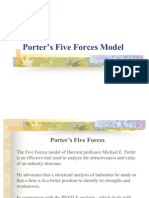 Porter's 5 Forces