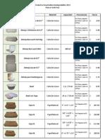 Lista de Precios Desechables 2011