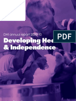 DHI Annual Report 2010
