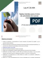 Ppt. Ley N°20