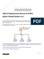 Altiris DS Quick Install Guide v2.1