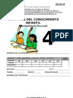 Examen 4o Grado Final 2010 - 2011