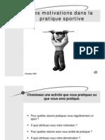 8-Les Motivations Dans La Pratique Sportive