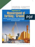 Measuring Earthing