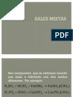 Sales Mixtas