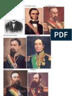Dibujos de los presidentes de la Unidad N°9 y 10