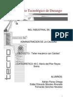 Taller mecánico con Calidad - PILAR REYES
