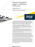 Revenue Recognition Project - Telecommunications Appendix