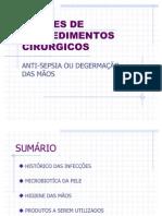 NOÇÕES DE PROCEDIMENTOS CIRURGICOS CFC