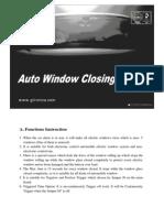 Auto Window Closing Module