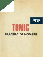 Tomic Palabra de Hombre