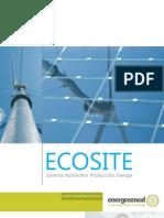 ECOSITE Sistema Autonomo Producion de Energia