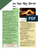 MSLRP Bulletin for 7-3-2011