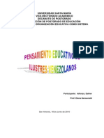 ANALISIS Del to Educativo de Ilustres