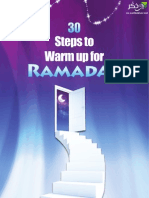 30 Steps to Warm Up for RAMADAN