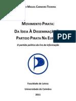O Partido Pirata na União Europeia