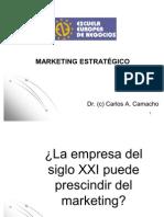 Marketing Estrategico - Carlos Camacho