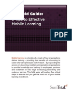 5 Tips To Effective Mobile Learning