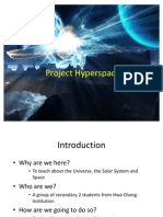 Project Hyperspace Lesson PowerPoint