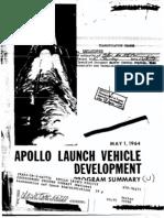 Apollo Launch Vehicle Development Program Summary
