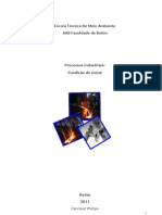 Processos industriais Fundição de metal