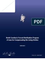 North Carolina's Forced-Sterilization Program
