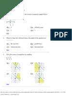 Glencoe Mathematics - Online Study Tools