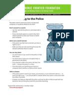 Police Tips 2011