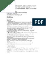 Perjanjian Internasional Sebagai Model Hukum b