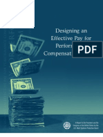 Designing Effective Pay for Performance System