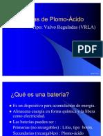 Baterías Plomo-ácido PARA MODIFICAR