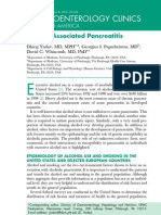 pancreatitis alcoholica
