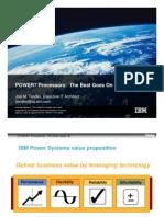 IBM POWER7 - The Beat Goes on Presentation