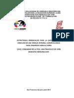 ESTRATEGIAS  GERENCIALES  PARA  LA  ASESORÍA DE LA CREACIÓN DE UNA GRANJA INTEGRAL AGROECOLÓGICA  PARA PEQUEÑOS AGRICULTORES