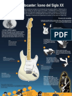 Infografía Stratocaster - Juan Luis Nugent