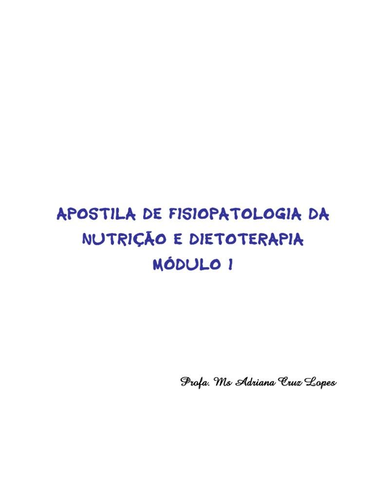 Apostila I Dietoterapia 2007