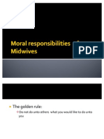 Moral Responsibilities of Midwives