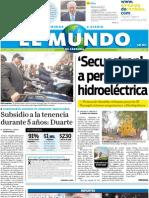 Portada El Mundo de Córdoba 6 de julio de 2011