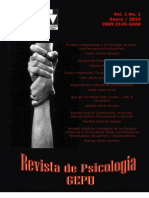Revista de Psicologia GEPU Vol. 1 No. 1