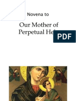 Novena to Our Mother of Perpetual Help