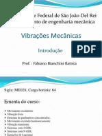 curso de vibrações - cap I