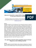SWOT e BCG no Diagnóstico Estratégico