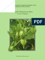 Flora de Jalisco 16. La Familia Solanaceae en Jalisco. El Genero Physalis