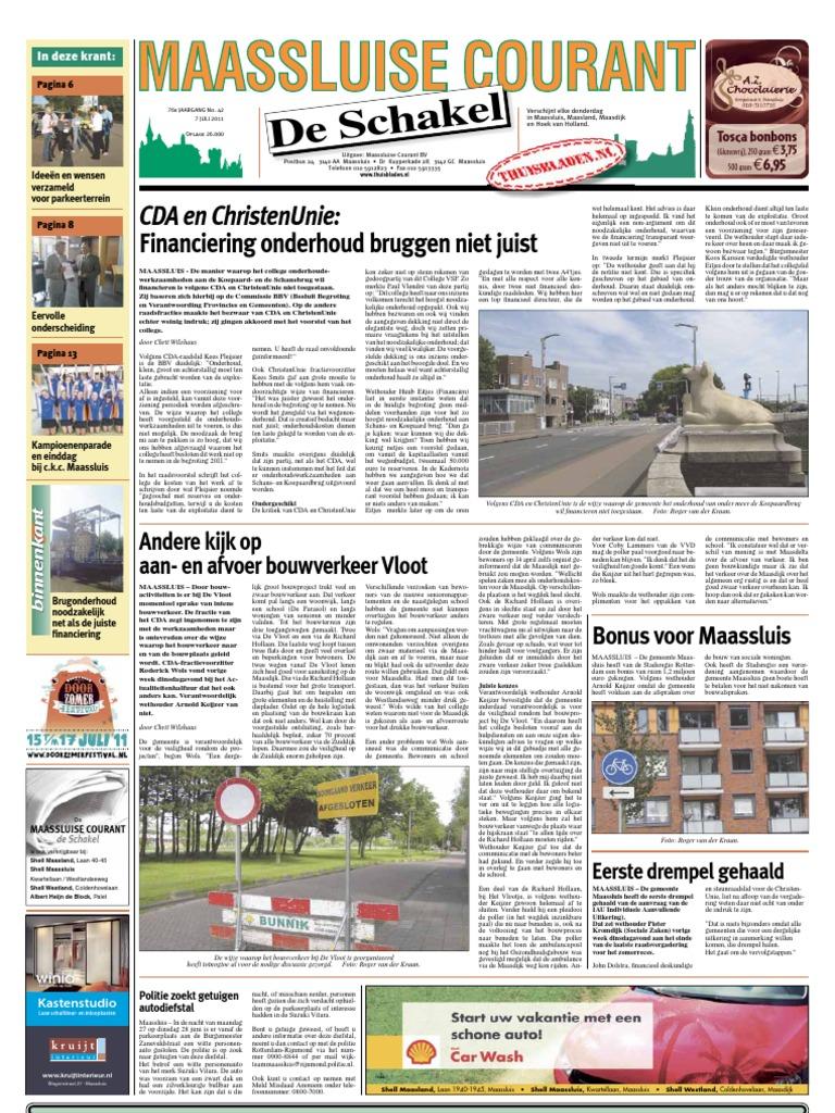 Maassluise Courant Week 27